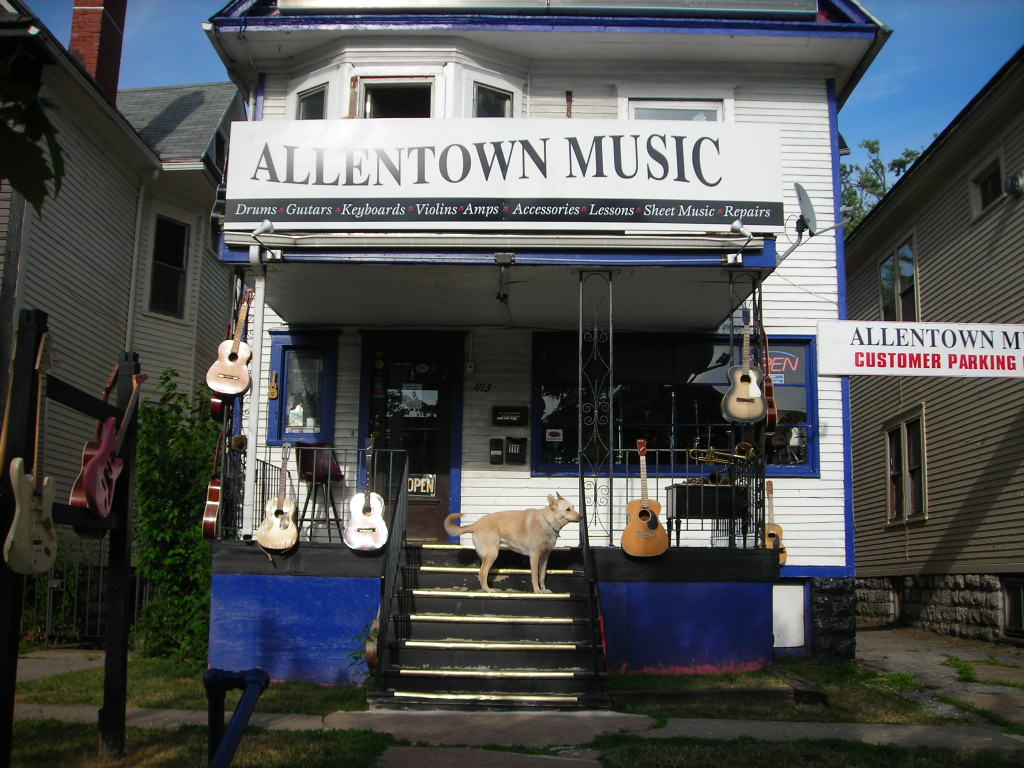 allentown music buffalo ny musical instruments guitars lessons repairs rentals books. Black Bedroom Furniture Sets. Home Design Ideas